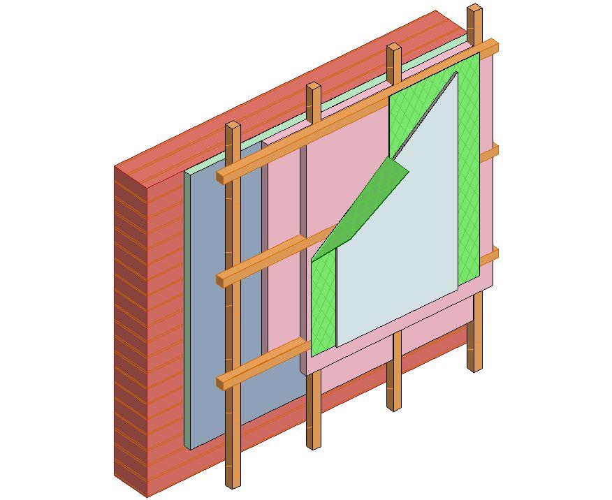 insulation in 3D