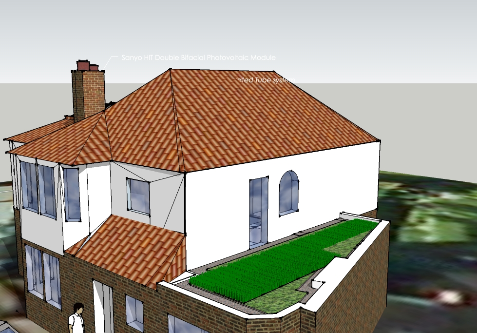 Projects Ongoing Grass Roof Bright Green Homes