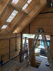 Timber fram and airtightness