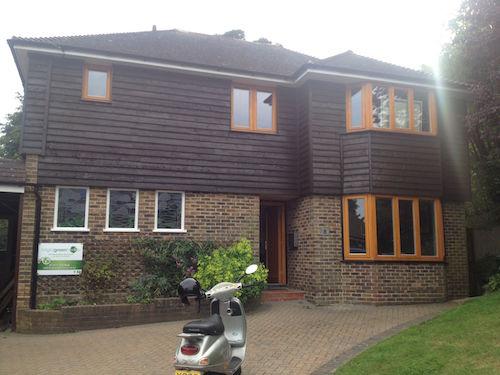 Finished house
